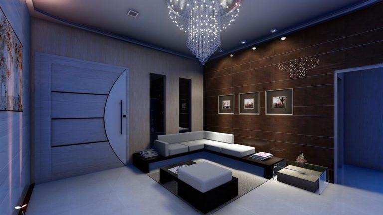 Piękny i modny salon urządzony w artystycznym, eklektycznym stylu