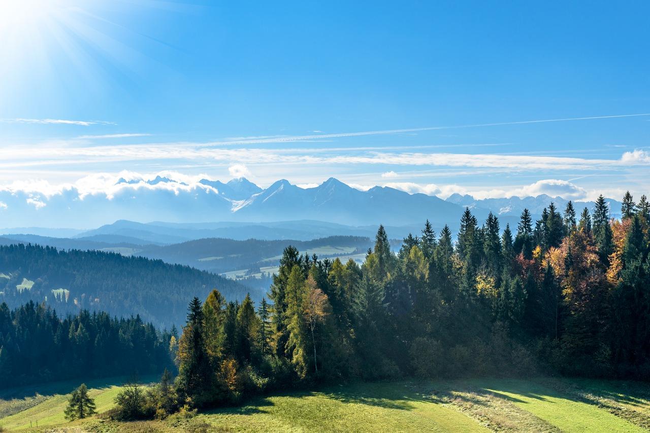 Najpiękniejsze punkty widokowe na Tatry